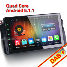 "9"" Android 5.1 Car Stereo for BMW 3 Series E46 Rover MG 3G GPS DAB OBD 4906-GB"