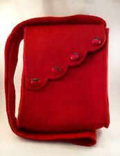 BORSA IN FELTRO FATTA A MANO- BAG HAND MADE 19x23x5 cm