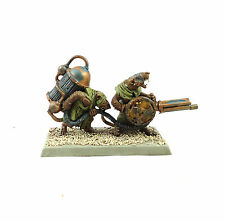 WARHAMMER FANTASY ARMY SKAVEN CHARACTER  PAINTED AND BASED