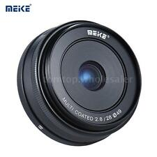 MEIKE 28mm F/2.8 Large Aperture Wide Angle Lens for SONY E NEX A5000 A5100 Q2O7