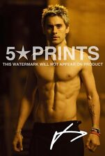 """JARED LETO POSTER PHOTO 12x8"""" ACTOR SIGNED PP AUTOGRAPH PRINT SHIRTLESS SEXY"""