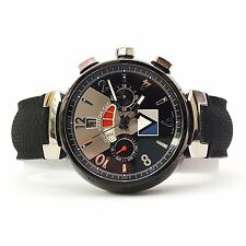 Louis Vuitton Tambour Regatta Cup - Q102G Chronograph Watch (16018)