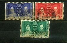 1937 Hong Kong Coronation Complete Set