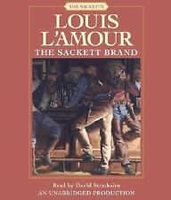 Louis L'Amour: The Sackett Brand No. 12 by Louis L'Amour (2008, CD, Unabridged)
