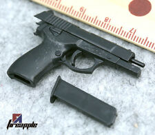 """1/6 Scale Black 4D Assembling QSZ92 Weapon Model For 12"""" HT Solider Figure Toy"""
