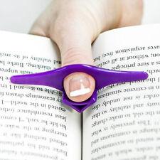 5Stk. Bunte Thumb Thing  Daumen Bücher Seite Halter Holder Lesezeichen Bookmarks