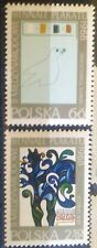 POLAND STAMPS MNH Fi1697-98 SC1583-84 Mi1844-45 -Exhibition of poster,1968,clean