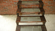 "15 Step Indoor Outdoor Stair Treads Staircase Step Rug Carpet 8""x 24"""