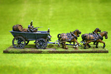 Trent Miniatures Wagon – tablón Cara De Carro De 28 Mm Wargames