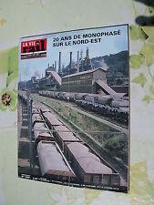 vie du rail 1977 1580 HAYANGE JOUDREVILLE HIRSON AUDUN ROMAN MONTMéDY éCOUVIEZ