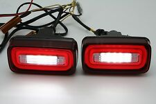 LED Red&Clear Rear Fog Lamp+Reverse Light For 1986-1915 Mercedes Benz W463 G