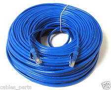 150FT 150 FT RJ45 CAT5 CAT5E Ethernet LAN Network Cable Blue Brand New