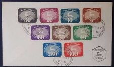1952 Israel Cover ties set of 9 Multi franked Postage Due stamps - 904
