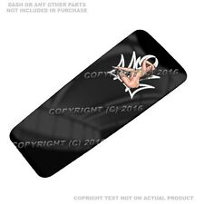 Console Dash Skin For Harley Touring 08-17  -  PIN UP GIRL PINSTRIPE - 108