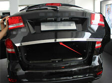 FIT FOR DODGE JOURNEY STAINLESS REAR TRUNK BOOT DOOR COVER TRIM TAILGATE MOLDING