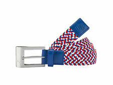 New 2016 Puma Golf Stretch Belt COLOR: Surf the Web Blue/High Risk Red SIZE:L/XL