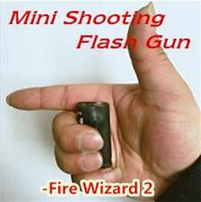 Mini Shooting flash Gun,Fire wizard 2,Fire Magic accessory,assistant,Stage Trick