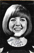 Cilla Black Hand Signed Autograph Photo With 1965 Ticket Stub, AFTAL Approved