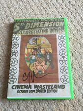 Incest Death Squad 2 DVD signed Cinema Wasteland 2014 Exclusive Horror Gore