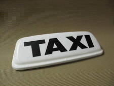 """Taxi Roof Sign Magnetic Top Sign 24"""" White LED lights Lettercraft ECONOMY"""