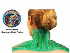 Neck and Back Universal Heat and Gel Pad - Ocean Heat