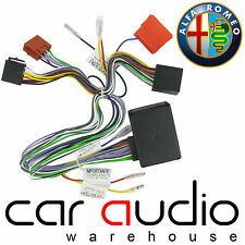 Alfa Romeo 156 2002 -2008 Car Stereo Bose Amplified Active Bypass Lead CT53-AR01