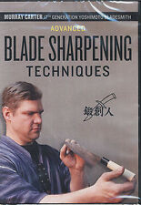Advanced Blade Sharpening Techniques, Murray Carter (DVD)/Knives/Bladesmithing