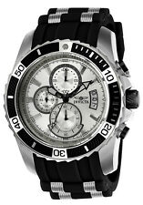 Invicta Men's 22428 Pro Diver Quartz Multifunction Silver Dial Watch