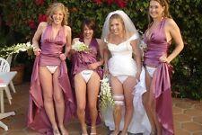 Sexy Girl 8.5x11 bride and bridesmaids panties photo
