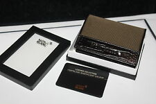 Montblanc Nightflight 2cc Wallet Visitenkarten Etui Card Holder Neu in OVP