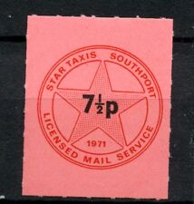 GB 1971 Star Taxis Southport Postal Strike 7.5p MNH Stamp #A29796A