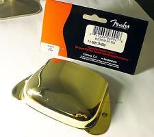 Genuine Fender American Vintage Precision/P Bass Bridge Cover Metal Plate - GOLD