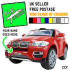 ANY NAME front number plate - kids' electric BMW X6 6V ride on car MANY COLOURS