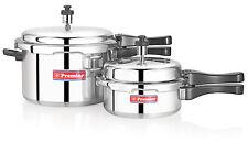 Premier Aluminium Pressure Cooker Combo Pack 5 Ltr + 2 Ltr
