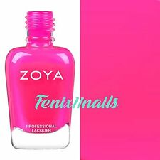 ZOYA ZP865 CANA neon bright fuchsia cream nail polish ~ ULTRA BRITES Collection