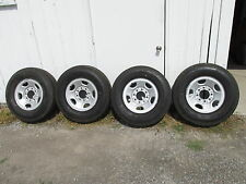 "GMC/CHEVY TRUCK-VAN 16"" STEEL WHEELS AND TIRES - (OEM)"