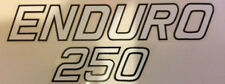 YAMAHA DT250 DT250C OIL TANK  DECAL