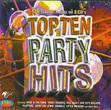 Top Ten Party Hits : 136 classic tracks (8 CD)