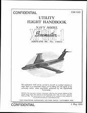 Martin P6M SeaMaster  Flying Boat RARE 1950's historic archive manual RARE