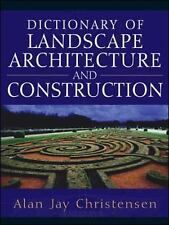 Dictionary of Landscape Architecture and Construction-ExLibrary