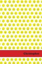 Etchbooks Christopher, Emoji, Wide Rule, 6 X 9', 100 Pages by Etchbooks...
