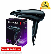 REMINGTON SALON CERAMIC IONIC HAIRDRYER 2000W 2KW CONCENTRATOR D3010 HAIR DRYER