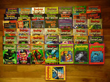 43 HORRORLAND 1-20 GOOSEBUMPS MOST WANTED 1-6 HALL OF HORRORS 1-6 4 DVD +++BOOKS