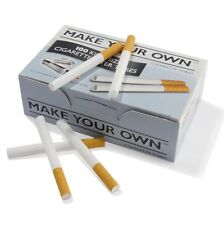 500 MAKE YOUR OWN BY RIZLA CIGARETTE KING SIZE FILTER TUBES THE NEW CONCEPT
