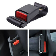 Car Vehicle Seat Belt Extension Extender Strap Safety Support Buckle Black