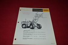 Caterpillar 966 Series B Wheel Log Loader Dealer's Brochure DCPA6 ver3