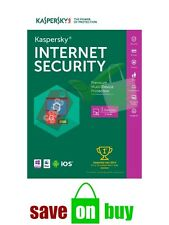 Kaspersky Internet Security 2017 - 3 Users, 1 Year (Windows, Mac, iOS, Android)