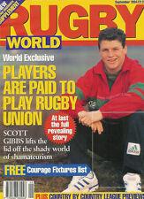 Rugby World Magazine Septiembre 1994-Italia, Bristol, Coventry, Treorchy, Neath