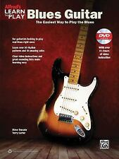 Alfred's Learn to Play Blues Guitar: The Easiest Way to Play the Blues (Book & D