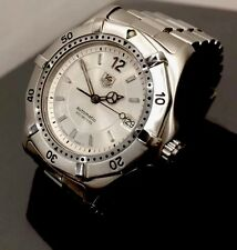 Men's Tag Heuer 2000 Series Automatic WK2116 Serviced Boxed Silver Dial